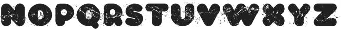 CA WolkenfluffTrash Regular otf (400) Font LOWERCASE