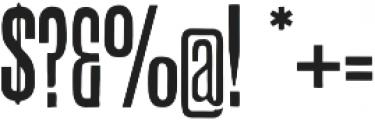 CAB ttf (400) Font OTHER CHARS