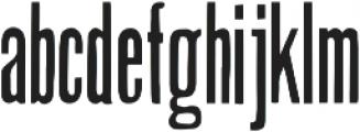 CAB ttf (400) Font LOWERCASE