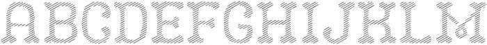 CAMO Layer Line otf (400) Font UPPERCASE