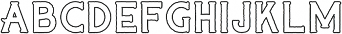 CAPTAIN SALTBEARD OVERBOARD otf (400) Font UPPERCASE