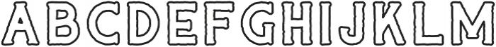 CAPTAIN SALTBEARD OVERBOARD otf (400) Font LOWERCASE