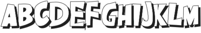 CARTBOOM otf (400) Font UPPERCASE