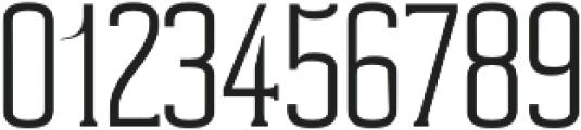 Cabales Light otf (300) Font OTHER CHARS