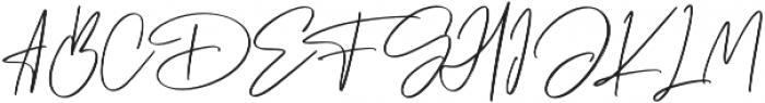 Cabello otf (400) Font UPPERCASE