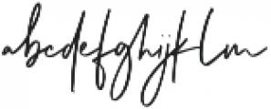 Cabello otf (400) Font LOWERCASE