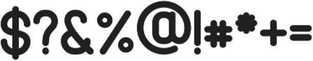 Cabo Rounded Bold Regular otf (700) Font OTHER CHARS