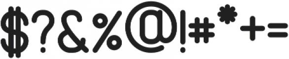 Cabo Rounded Medium Regular otf (500) Font OTHER CHARS