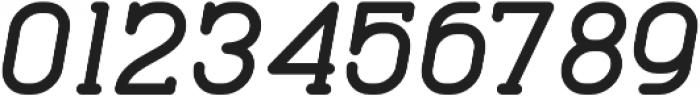 Cabo Slab Bold It Regular otf (700) Font OTHER CHARS