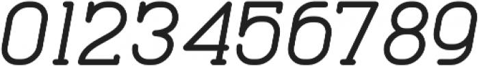Cabo Slab SemiboldIt Regular otf (600) Font OTHER CHARS