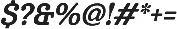 Cabrito Cond Bold Italic otf (700) Font OTHER CHARS