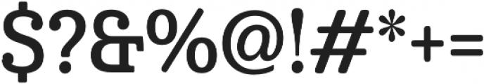 Cabrito Cond Demi otf (400) Font OTHER CHARS