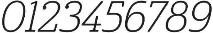 Cabrito Cond Light Italic otf (300) Font OTHER CHARS