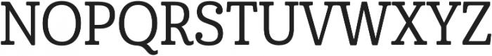 Cabrito Cond Medium otf (500) Font UPPERCASE
