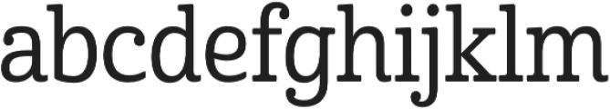 Cabrito Cond Medium otf (500) Font LOWERCASE