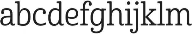 Cabrito Cond Regular otf (400) Font LOWERCASE