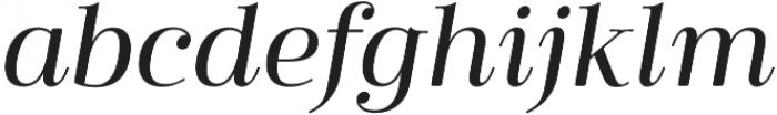 Cabrito Didone Ext Medium It otf (500) Font LOWERCASE