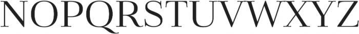 Cabrito Didone Ext Regular otf (400) Font UPPERCASE