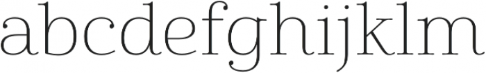 Cabrito Didone Ext Thin otf (100) Font LOWERCASE