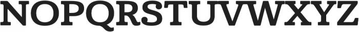 Cabrito Ext Bold otf (700) Font UPPERCASE