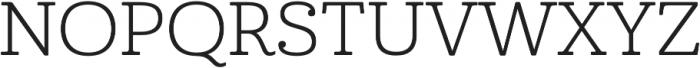 Cabrito Ext Book otf (400) Font UPPERCASE