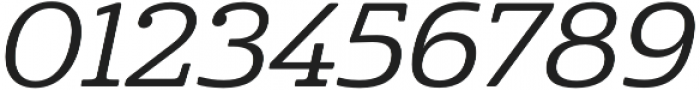 Cabrito Ext Medium Italic otf (500) Font OTHER CHARS