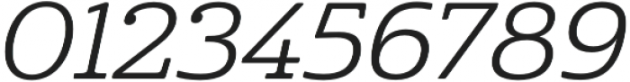 Cabrito Ext Regular Italic otf (400) Font OTHER CHARS