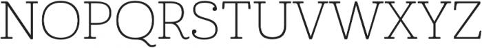 Cabrito Ext Thin otf (100) Font UPPERCASE