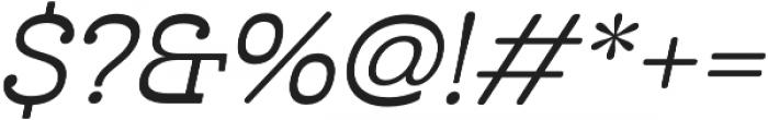 Cabrito Inv otf (500) Font OTHER CHARS