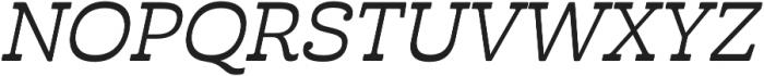 Cabrito Inv otf (500) Font UPPERCASE