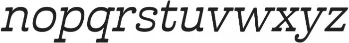 Cabrito Inv otf (500) Font LOWERCASE