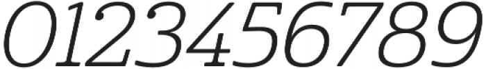 Cabrito Norm Book Italic otf (400) Font OTHER CHARS