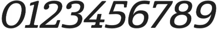 Cabrito Norm Demi Italic otf (400) Font OTHER CHARS