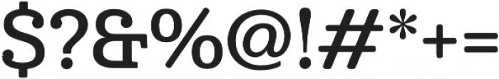 Cabrito Norm Demi otf (400) Font OTHER CHARS