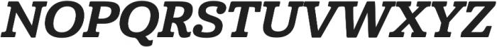 Cabrito Norm ExBold Italic otf (700) Font UPPERCASE