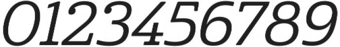 Cabrito Norm Medium Italic otf (500) Font OTHER CHARS