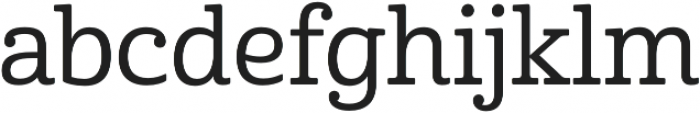 Cabrito Norm Medium otf (500) Font LOWERCASE