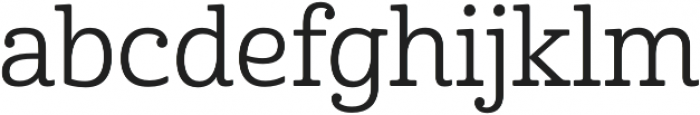 Cabrito Norm Regular otf (400) Font LOWERCASE