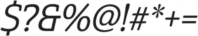 Cabrito Semi otf (500) Font OTHER CHARS