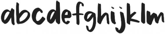 Cactus otf (400) Font LOWERCASE