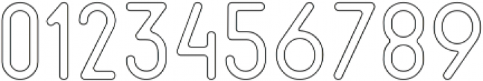 Cactuso Outline ttf (400) Font OTHER CHARS