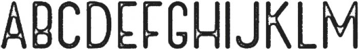 Cactuso Rough ttf (400) Font UPPERCASE