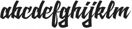Cadass otf (400) Font LOWERCASE