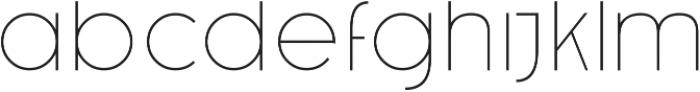 Caiman otf (100) Font LOWERCASE
