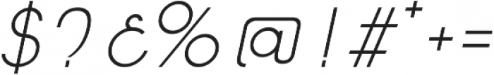 Caiman otf (300) Font OTHER CHARS