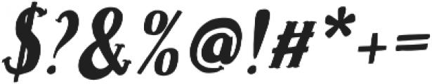 Caitiff Slanted otf (400) Font OTHER CHARS
