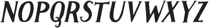 Caitiff Slanted otf (400) Font UPPERCASE
