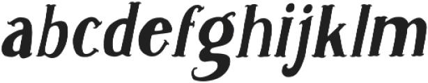 Caitiff Slanted otf (400) Font LOWERCASE