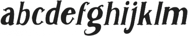 Caitiff Slanted ttf (400) Font LOWERCASE