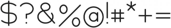 Cake Sans Light otf (300) Font OTHER CHARS